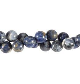 Sodaliet kralen rond 12 mm (snoer van 40 cm)