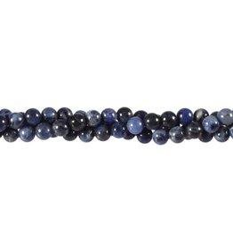 Sodaliet kralen rond 6 mm (snoer van 40 cm)