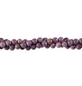 Stichtiet kralen rond 6 mm (snoer van 40 cm)