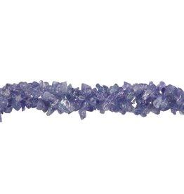Tanzaniet splitsnoer 40 cm