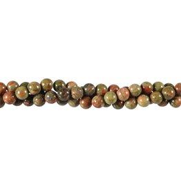 Unakiet kralen rond 6 mm (snoer van 40 cm)