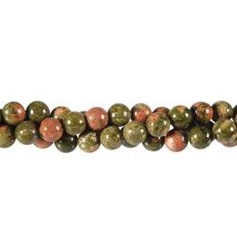 Unakiet kralen rond 8 mm (snoer van 40 cm)
