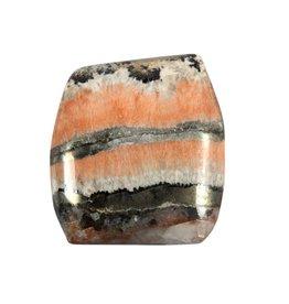 Celestobariet cabochon / platte steen 3,5 x 3,2 x 0,5 cm / 19,9 gram
