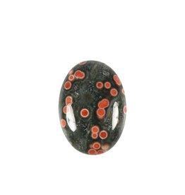 Jaspis (oceaan) cabochon ovaal 25 x 18 mm