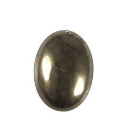 Pyriet cabochon ovaal 30 x 22 mm