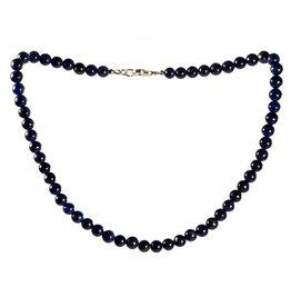 Lapis lazuli ketting 8 mm kralen