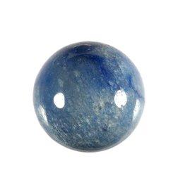 Kwarts (blauw) edelsteen bol 40 mm
