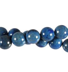 Lapis lazuli (denim) kralen rond 12 mm (snoer van 40 cm)