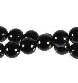Onyx kralen rond 12 mm (snoer van 40 cm)