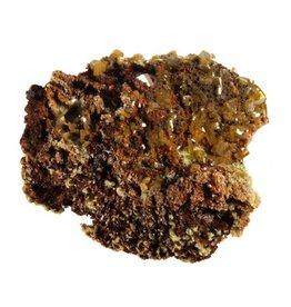 Wulfeniet kristallen op mimetesiet 4,5 x 3,5 x 2 cm / 31,5 gram