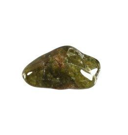 Vesuvianiet of idocraas steen getrommeld 5 - 10 gram