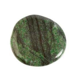 Verdiet steen plat gepolijst