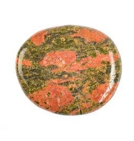 Unakiet steen plat gepolijst