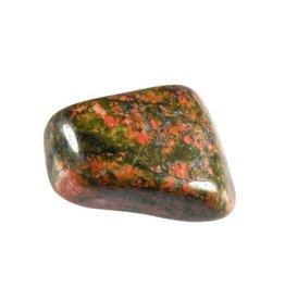 Unakiet steen getrommeld 10 - 15 gram