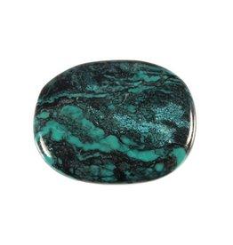 Turkoois steen plat gepolijst