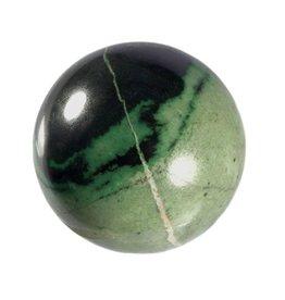 Transvaal jade (grossulaar) edelsteen bol 66 mm