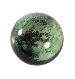 Transvaal jade (grossulaar) edelsteen bol 61 mm