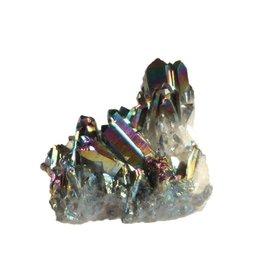 Titanium aura kwarts cluster 5,5 x 4,5 x 4 cm / 89 gram