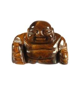 Tijgeroog boeddha 4 cm