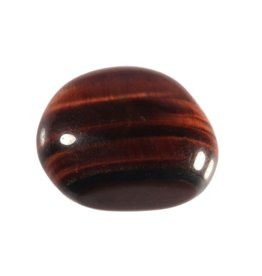 Tijgeroog (rood) steen getrommeld 5 - 10 gram