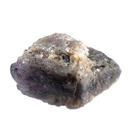 Tanzaniet ruw 4 x 2,6 x 2,2 cm / 42 gram