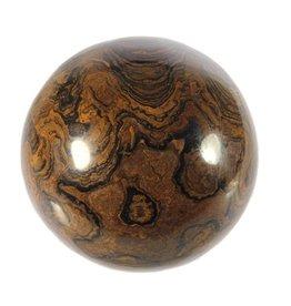 Stromatoliet edelsteen bol 66 mm