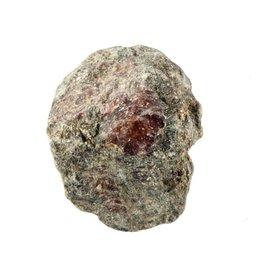 Spinel in zwarte mica ruw 50 - 100 gram