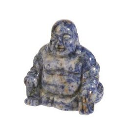 Sodaliet boeddha 5,5 cm