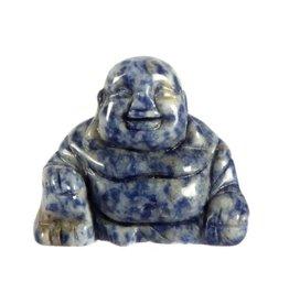Sodaliet boeddha 4 cm