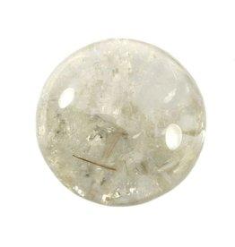 Rutielkwarts edelsteen bol 80 mm