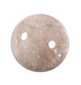 Rutielkwarts edelsteen bol 56 mm