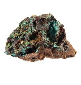 Rosasiet ruw met calciet kristalletjes 6 x 4 x 3,5 cm / 92,5 gram