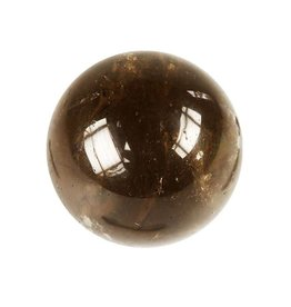 Rookkwarts (donker) edelsteen bol 40 mm