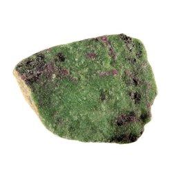Robijn in zoisiet ruw 175 - 250 gram