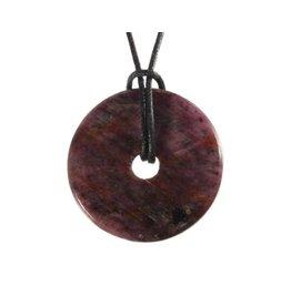 Robijn hanger donut 2,5 - 3 cm