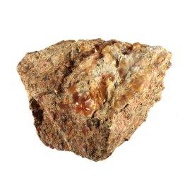 Opaal (vuur) in matrix 8 x 7 x 5 cm / 372 gram