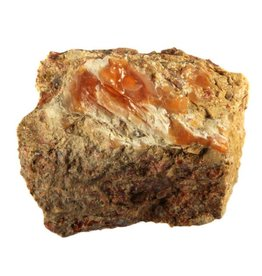 Opaal (vuur) in matrix 6,5 x 5,5 x 5 cm / 207 gram