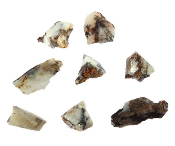 Opaal (Mount Shasta) ruw 0,5 - 1 gram