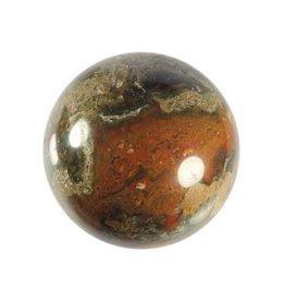 Opaal (groen) edelsteen bol 67 mm