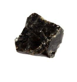 Obsidiaan (zwart) ruw 25 - 50 gram