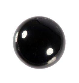 Obsidiaan (zwart) edelsteen bol 40 mm