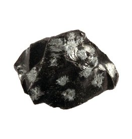 Obsidiaan (sneeuwvlok) ruw 25 - 50 gram