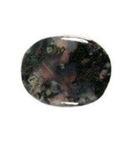 Mosagaat steen plat gepolijst