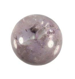 Amethist (licht) edelsteen bol 35,9 mm