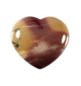 Mookaiet edelsteen hart 4 cm
