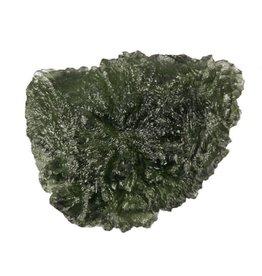 Moldaviet ruw 3,3 x 2,5 x 1,5 cm / 14,3 gram