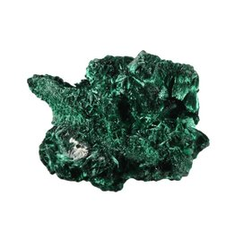 Malachiet (fluweel) ruw 50 - 100 gram