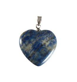 Lapis lazuli hanger hart 20 mm