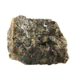 Labradoriet ruw B-kwaliteit 100 - 175 gram