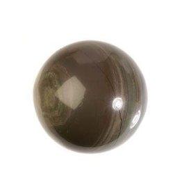 Jaspis (zilverblad) edelsteen bol 35 mm